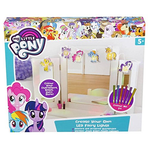 My little Pony mlp4-y17-4421Create Your Own LED Lichterkette, Mehrfarbig -