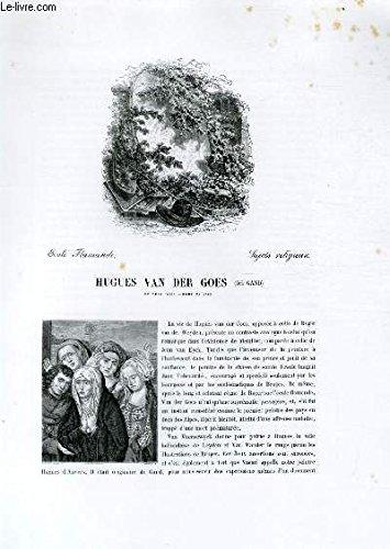 Biographie de Hugues Van der Goes