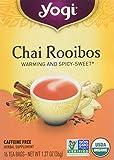 YOGI TEA - Chai Rooibos Organic Tea - 16 Tea Bags