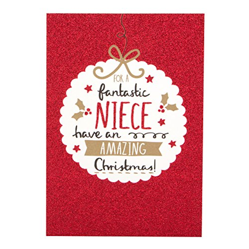 Hallmark Christmas Card To Niece Everything You Wish For - Medium