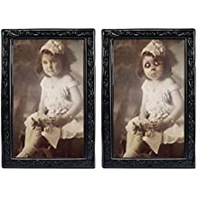 Umiwe 3D Face changing ritratto Stereograph spaventare immagine Horrible foto horror gadget per gothic tema Halloween party fasi proprietà