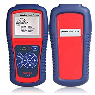 Autel Autolink AL419 Color Screen Universal OBDII CAN Scanner with Code Tips for Troubleshooting Standard 16-pin Connector English Menu and Free Update Online