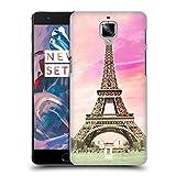 Head Case Designs Tour Eiffel Complète Paris France Meilleurs Endroits - Collection 3 Étui Coque D'Arrière Rigide Pour OnePlus 3 / 3T