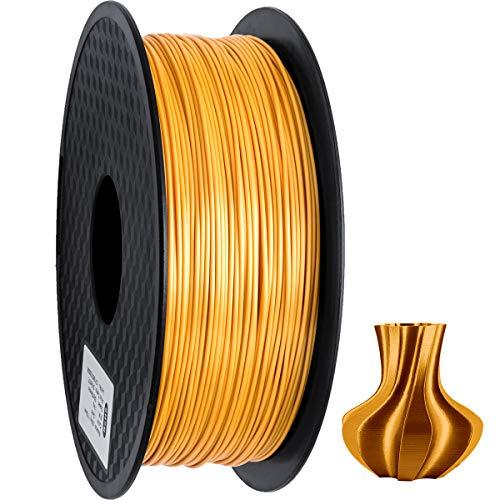 Especificación:   Material: PLA (ácido poliláctico)  Peso: 1 kg (alrededor de 2.2 libras)  Diámetro del filamento: 1,75 mm (precisión dimensional +/- 0,03 mm)  Recomendar la temperatura de presión: 195-220  Recomiende la velocidad de impresión: 50-10...