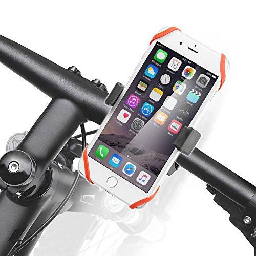 iKross Soporte Móvil para Bicicleta, Soporte para Manubrio de Bicicleta, Soporte Universal