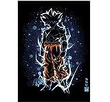 REDWPQ Anime Affiches Et Gravures Mur Art Toile Peinture Mur Photos Photos Chambre...