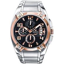 Viceroy 47553-95 - Reloj de caballero de cuarzo, correa de acero inoxidable color plata