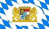 8,4 x 5,4 cm Autoaufkleber Bayern mit Löwenwappen Sticker Aufkleber fürs Auto Motorrad outdoor / indoor