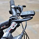 VeloChampion - Bicicleta de Manillar para computadora de Bicicleta para Garmin Edge 200, 500, 510,...
