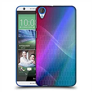 Snoogg Abstract Multiolor Wall Designer Protective Phone Back Case Cover For HTC Desire 820