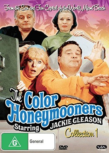 The Color Honeymooners - 3-DVD Set ( The Jackie Gleason Show ) ( The Color Honey mooners ) [ NON-USA FORMAT, PAL, Reg.0 Import - Australia ]