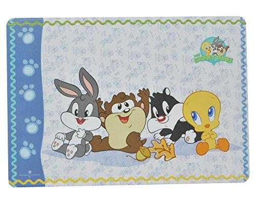 ney Tunes Tweety und Freunde - 43 cm * 29 cm - Tischunterlage / Platzdeckchen / Malunterlage / Knetunterlage / Eßunterlage - Bugs Bunny Taz Tiere - für Kinder Jungen Mädchen / kleine Schreibunterlage ()