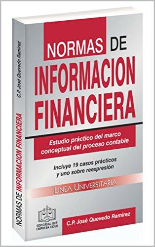 NORMAS DE INFORMACIÓN FINANCIERA EPUB 2018: Estudio práctico del ...