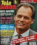 TELE LOISIRS [No 262] du 04/03/1991 - rick hunter change de partenaire tino rossi, sa voix et son charme seduisent toujours - soiree speciale coluche - le luron marie curie, une femme de legende tootsie, un dustin hoffman tres seduisant