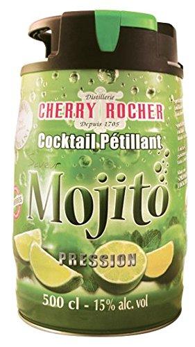Mojito en Fut Pression 5 litres Fut de Mojito déjà prêt et déjà dosé Cocktail pétillant alcoolisé