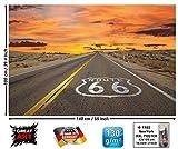 GREAT ART XXL Poster - Route 66 - Wandbild Dekoration