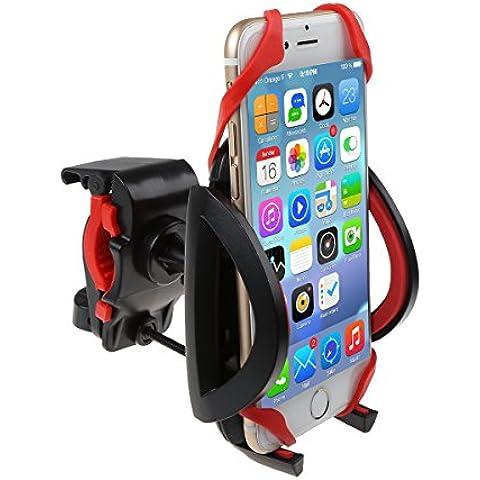 IDEAPRO Universel Vélo Support de Téléphone Support du Guidon Pour