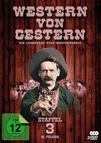 Western von Gestern - Staffel 3 (21 Folgen) (Fernsehjuwelen) [3 DVDs]