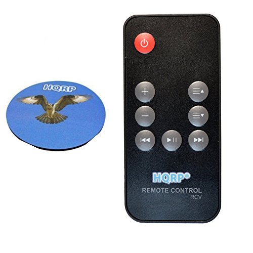 HQRP Fernbedienung fuer Bose SoundDock Series III 3 / Series II 2 / 310100-0100 Digital Music System / Lautsprecher Digitales Musiksystem