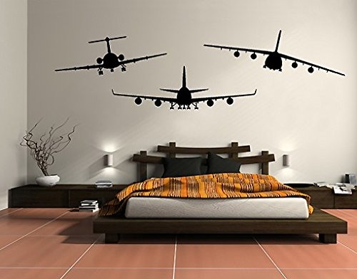 wandtattoo-nosf528-bfa-aircraft-set-boeing-747-fokker-28-antonov-an-124-farbegelbgrungrosse15cm-x-45