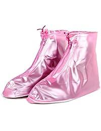 1 Pair High Quality Waterproof Rain Shoe Cover Flattie Slip Resistant Overshoe for Men and Women