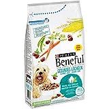 Purina Beneful Hundetrockenfutter Gesundes Lächeln (mit Rind und Gemüse) 3er Pack (3 x 1,4kg) Beutel