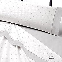 Juego de sábanas VIOLET de Catotex cama de 150 color gris