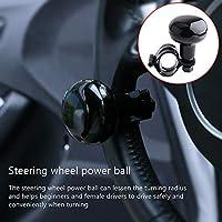 Mioloe perilla del volante del coche booster bola dirección metal rodamiento mango volante auxiliar auxiliar de dirección