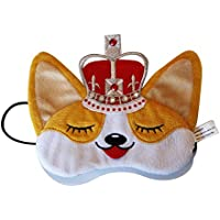 Royal Corgi Dog Plush Comfortable Sleep Eye Mask preisvergleich bei billige-tabletten.eu