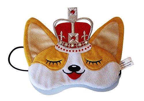 royal-corgi-dog-plush-comfortable-sleep-eye-mask
