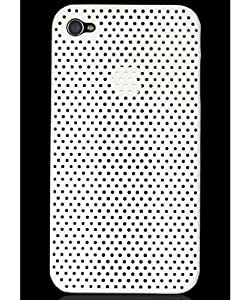 iAccy Perfo Case IP4001 for iPhone 4 (White)