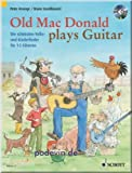 Old Mac Donald plays Guitar - Gitarrenoten [Musiknoten]