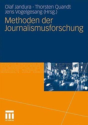 Methoden der Journalismusforschung (German Edition) (2011-05-04)