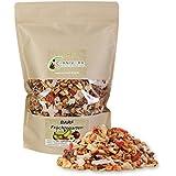 Carnivora Früchtegarten (BARF Früchtemix) 500g - BARF Obstmischung Nahrungsergänzung für Hunde - 100% natürliche Früchte in Flocken - getreidefreies Obst-Ergänzungsfuttermittel zum Barfen