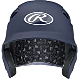Rawlings Velo Series Alpha Sized Batting Helmet, Matte Navy, X-Large