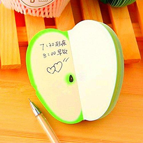 fomccu 1pc-Foglietti adesivi fai da te adesivi kawaii frutta Blocchetti per Appunti Carta per scuola, ufficio Supplies