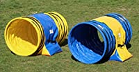"'hoopers Tunnel Agility set ""orig professionnelle. callieway®/Tunnel Lot de 1 m pour le juif Ø 60 cm (Lot de 2) pour hoopers & Jud Sport pour chien"