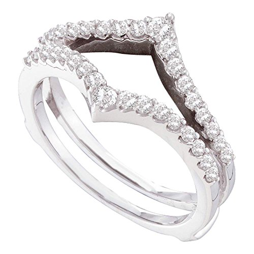 Jewels By Lux Damen Ring Guard Wrap Enhancer Hochzeitsband 8 -