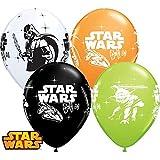 10 Luftballons Star Wars bunt Pastell 25cm