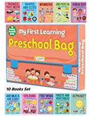 My First Learning Preschool Bag - 10 Exciting Preschool Books