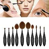 Pinselset Makeup Pinsel BESTOPE Pinselset Makeup Pinsel Oval Zahnbürste kosmetischer Bürsten-Satz Powder Foundation Creme Eyeliner Lip Pinsel Make-up-Werkzeuge