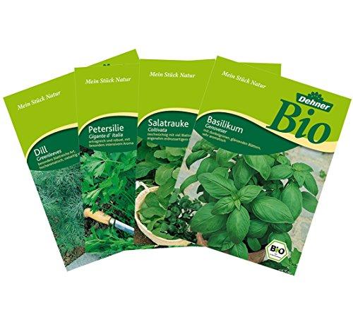 Dehner Bio Saatgut-Mix Küchenkräuter, 4 Sorten