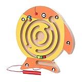 YunYoud Kinder Magnetic Maze Spielzeug Kinder Holz Spiel Spielzeug Holz Intellektuellen Jigsaw Board Waldorf Barbie playmobil kleinkindspielzeug holzspiele