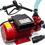 Deuba Monzana® Dieselpumpe Ölabsaugpumpe | 370 W | 40L/Min - Ölpumpe Kraftstoffpumpe Saugpumpe