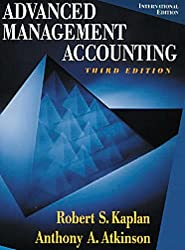 Advanced Management Accounting (International Edition) by Robert Kaplan (1998-02-01)