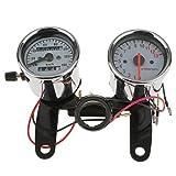 Moto Contagiri Calibro Contachilometri Tachimetro Universale Con Staffa