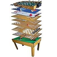 Tavolo Sala di gioco 10in 1biliardo, Balilla,, Ping Pong