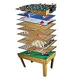 Tavolo Sala di gioco 10in 1biliardo, Balilla,, Ping Pong immagine