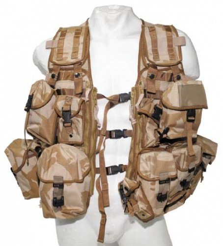 ORIG. BRIT. WESTE Load Carrying Molle Modular System Tactical Paintball Army DPM