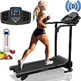 PrestigeSports XM-PROII Elite Treadmill with Bluetooth - 2019 Model, Motorized Running Machine,10KPH, 3